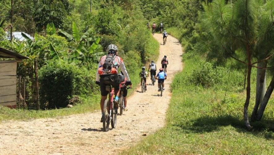 Travesía en bicicleta Hun Nal Ye - Cobán   Septiembre 2016