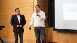 Tulio Castillo y Jaime Vargas son los primeros guatemaltecos y segundos latinoamericanos en ganar el Bootcamp de MIT. (Foto: Cortesía Tulio Castillo)
