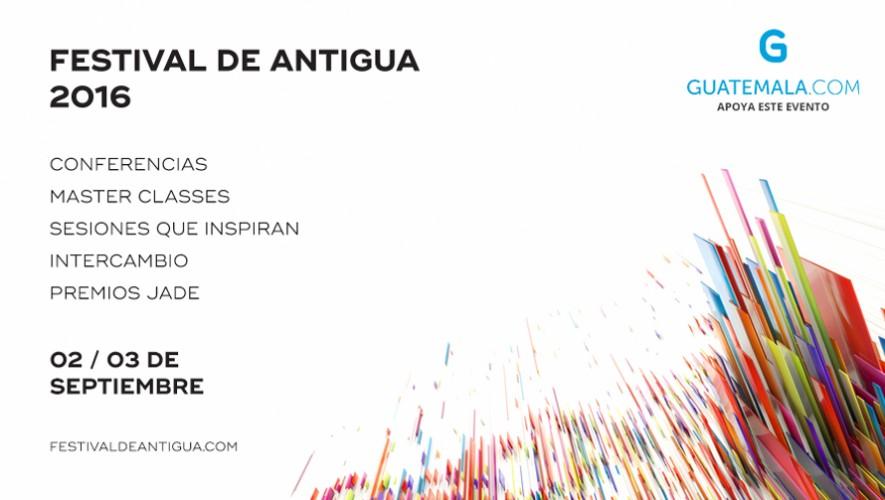Información general del Festival Antigua 2016. (Foto: Guatemala.com)