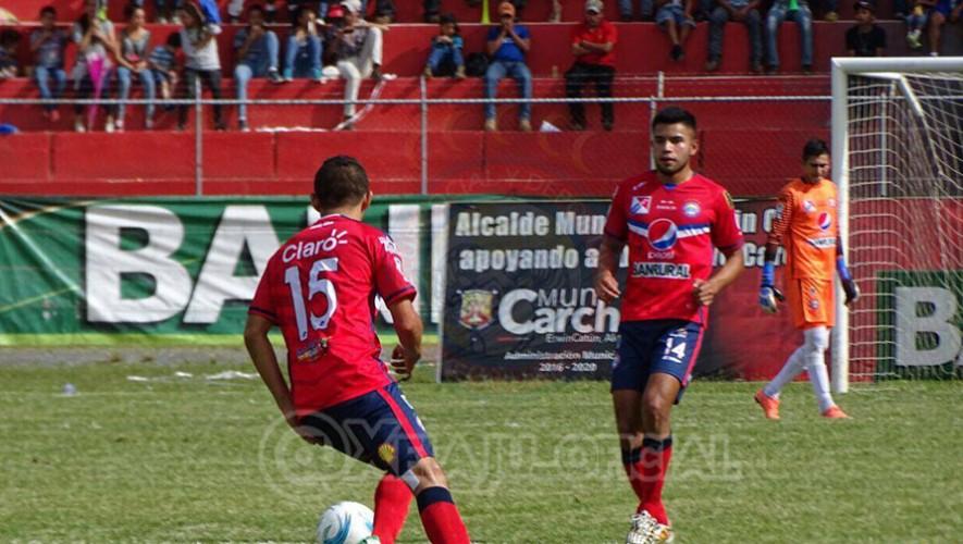 Partido de Xelajú vs Mictlán por el Torneo Apertura   Agosto 2016