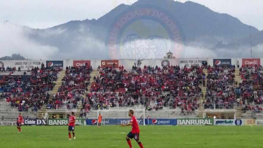 Partido de Xelajú vs Suchitepéquez, por el Torneo Apertura | Agosto 2016