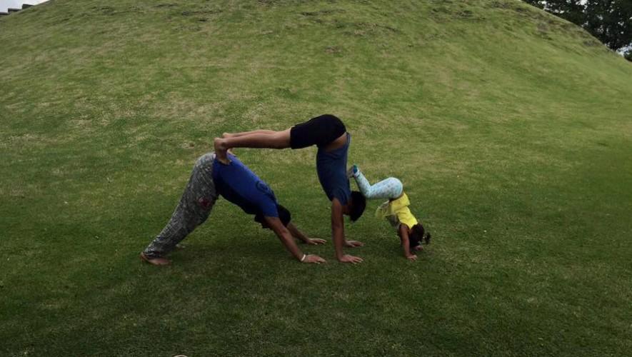 Yoga al aire libre en Museo Miraflores | Agosto 2016