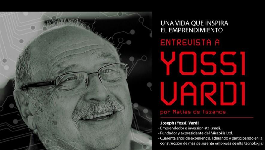 Entrevista a Joseph (Yossi) Vardi en la Universidad Francisco Marroquín | Agosto 2016