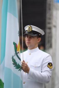 Bandera de Guatemala en Río