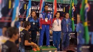 Barbara Morales consiguió plata para Guatemala. (Foto: Colonia Diez de Mayo)