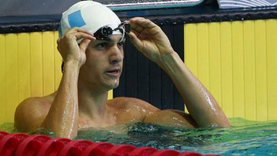 Charles Fernández en natación