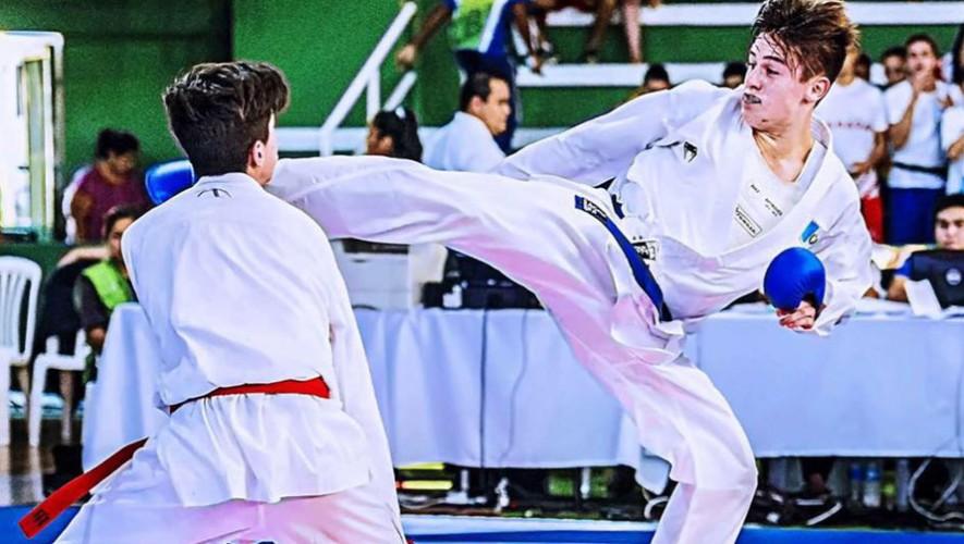 Es la segunda medalla de oro que consigue Wever en un Panamericano, la primera en Bolivia. (Foto: Manuel Efch)