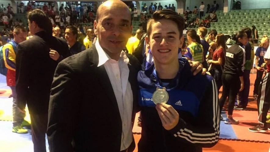 Christian Wever se ha convertido en el gran referente del karate en Guatemala. (Foto: KSK Guatemala)