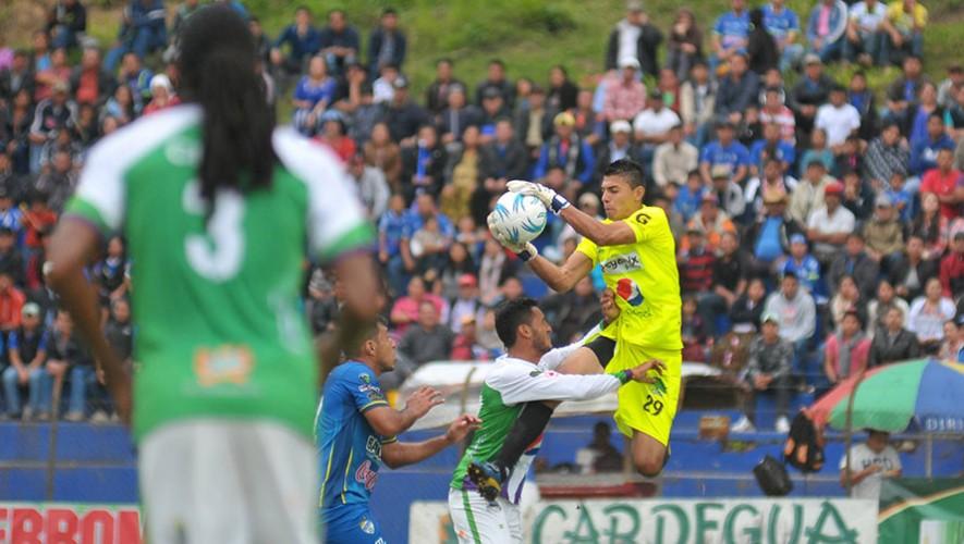 Partido de Cobán vs Antigua, por el Torneo Apertura   Agosto 2016