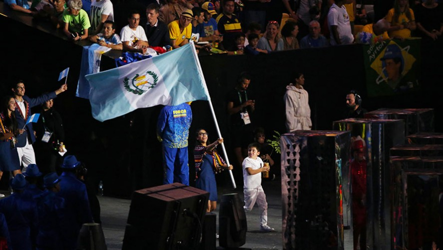 Guatemala en la inauguración de Río 2016