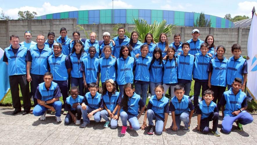 Equipo de patinaje en Guatemala