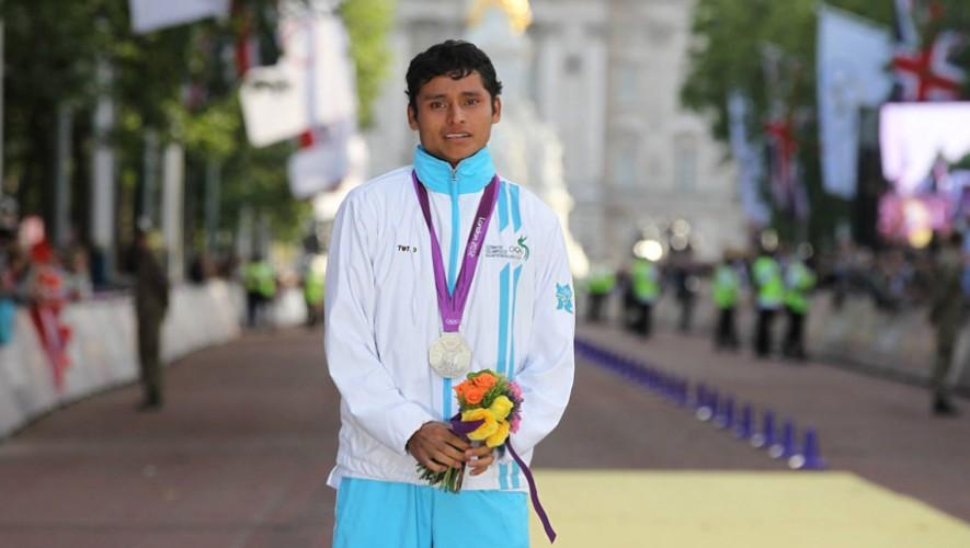 Erick Barrondo medalla de plata