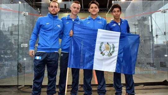 Guatemala en el Mundial de Squash 2016