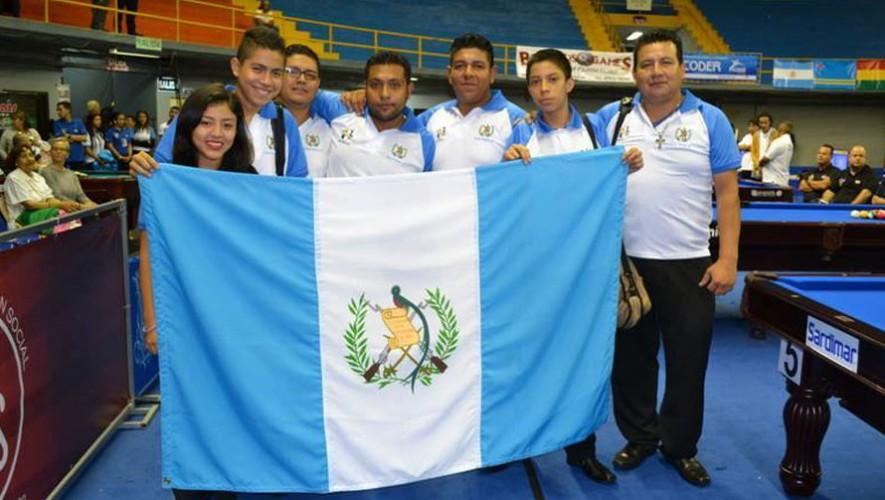 Guatemala en el Panamericano de billar
