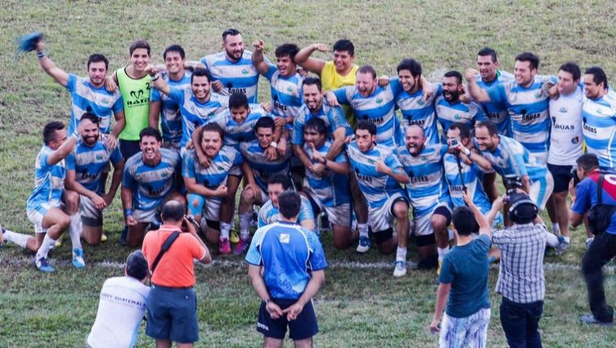 Selección de Rugby de Guatemala 2