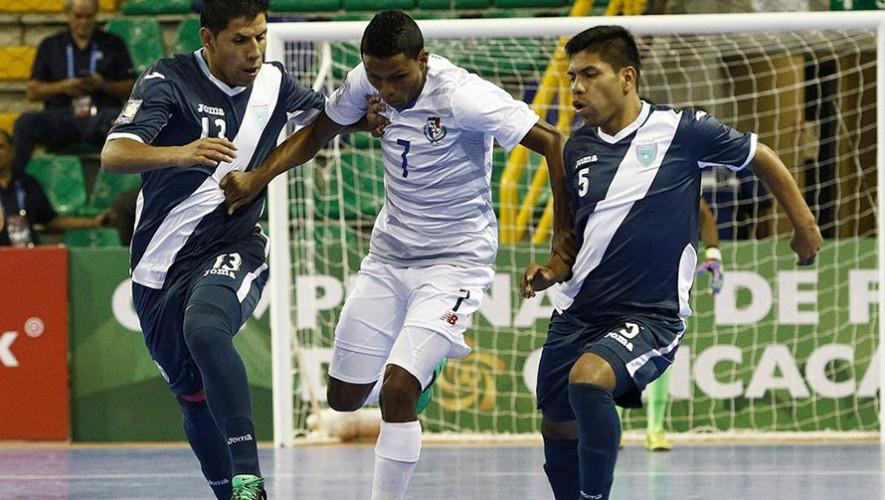 Amistoso 1: Partido de futsal Guatemala vs Panamá| Agosto 2016