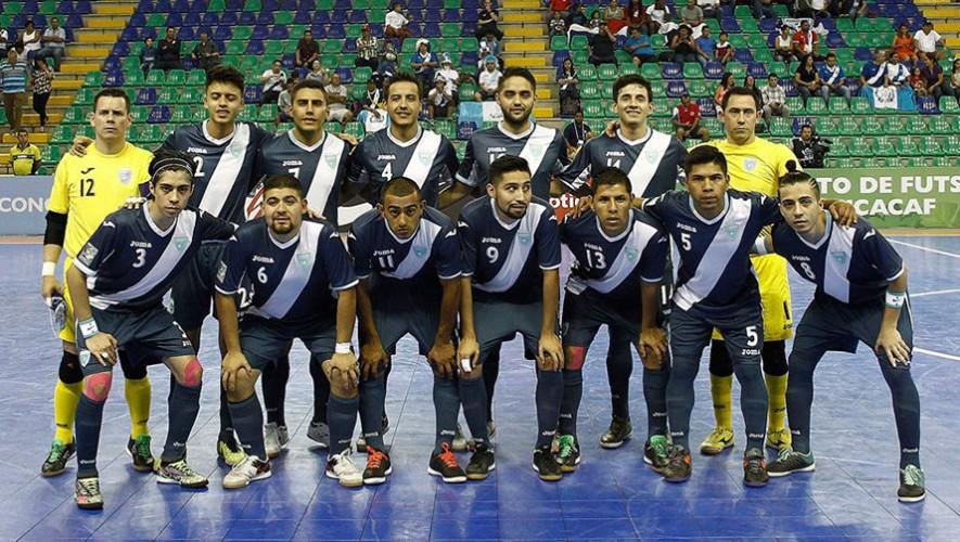 Amistoso 2: Partido de futsal Guatemala vs Panamá| Agosto 2016