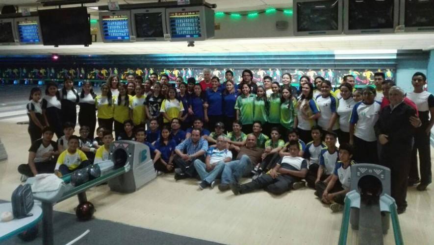 Las categorías que se disputaron fueron la Sub-16 y Sub-21. (Foto: Federación De Boliche Guatemala)
