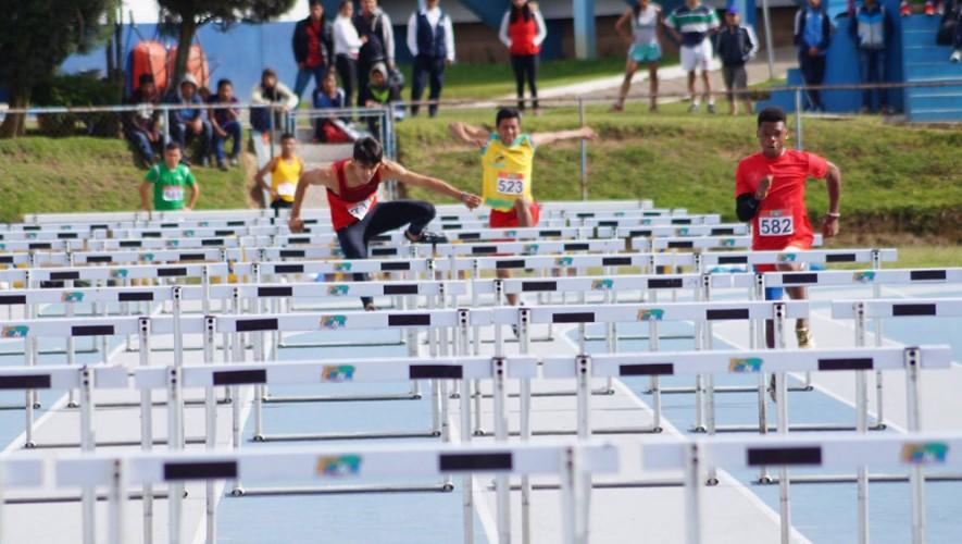 Se establecieron dos récords nacionales, uno en 110 metros con vallas y el otro en 800 metros libre. (Foto: Federación Nacional de Atletismo)