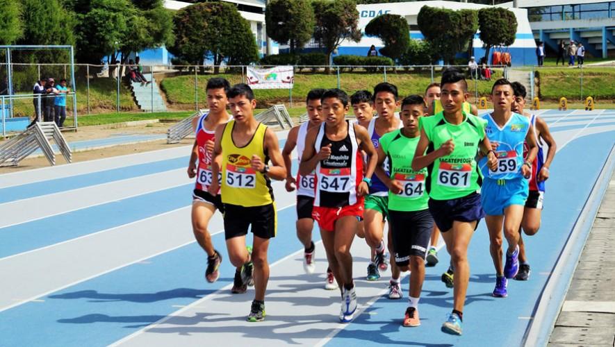 Quetzaltenango albergó la edición 2016 de los Juegos Nacionales de Atletismo. (Foto: Federación Nacional de Atletismo)