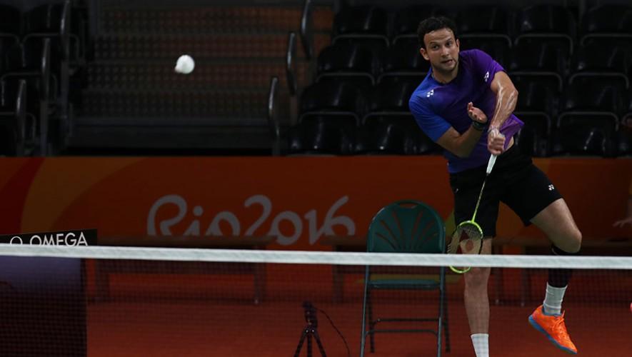 Río 2016: Entrenamiento de Kevin Cordón