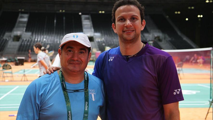 Río 2016: Entrenamiento de Kevin Cordón con José María