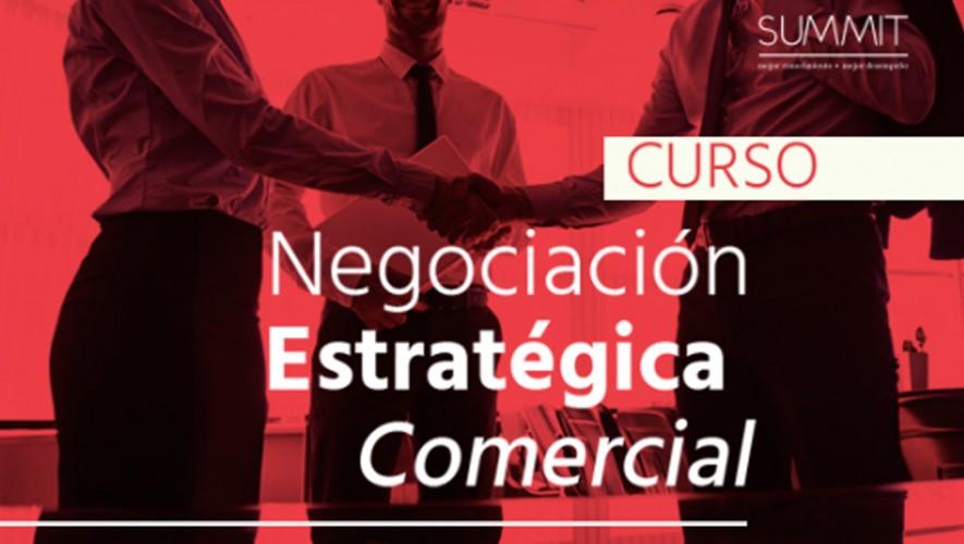 Curso de negociación estratégica y comercial impartido por SUMMIT | Agosto 2016