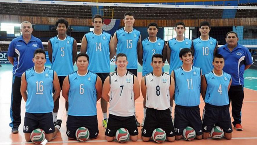 Esta fue la selección que disputó la edición 2014, donde Guatemala se ubicó en el cuarto lugar. (Foto: Norceca)