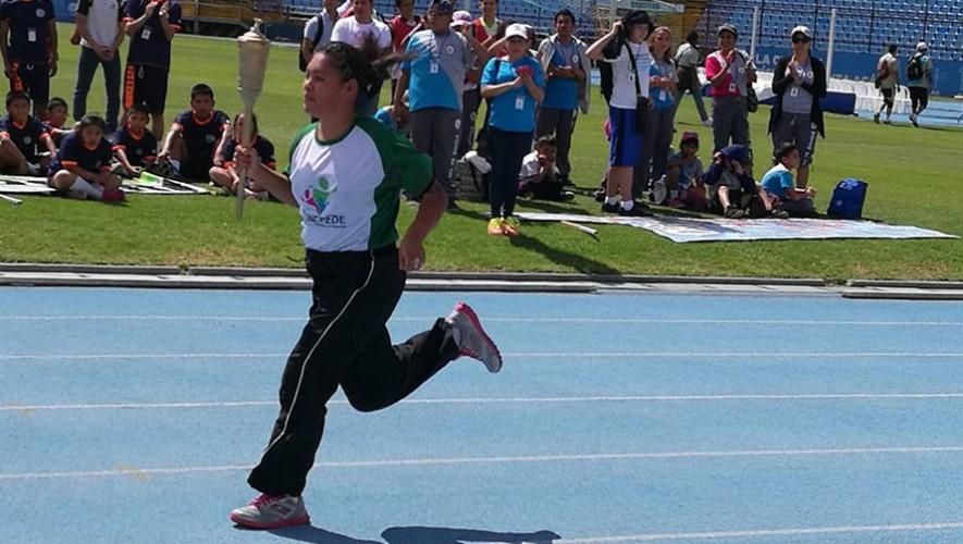 Olimpiadas Especiales en Guatemala