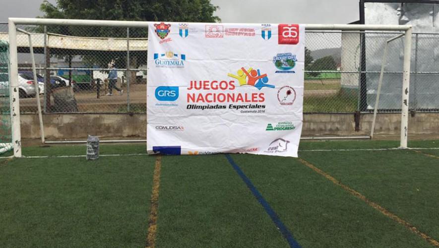 Olimpiadas Especiales en Guatemala 1