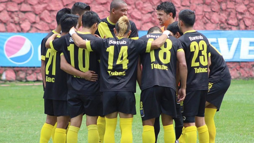 Partido de Petapa vs Carchá, por el Torneo Apertura | Agosto 2016