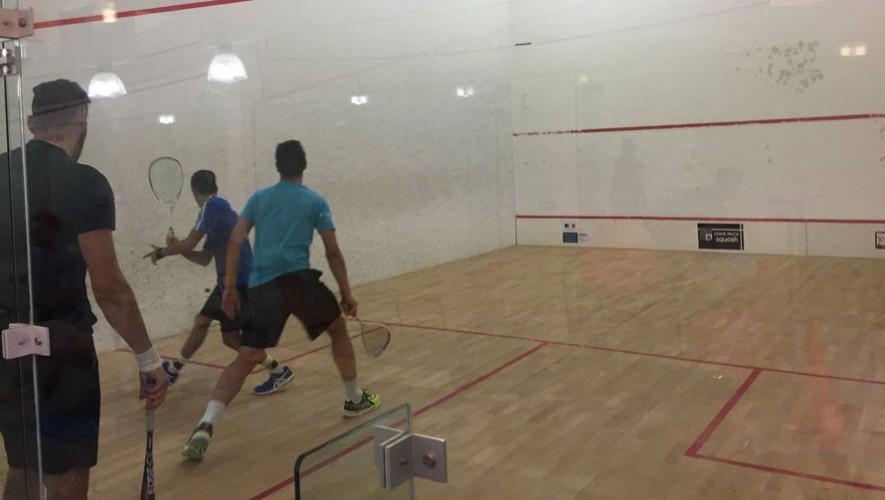 Equipo de Squash de Guatemala en el Mundial