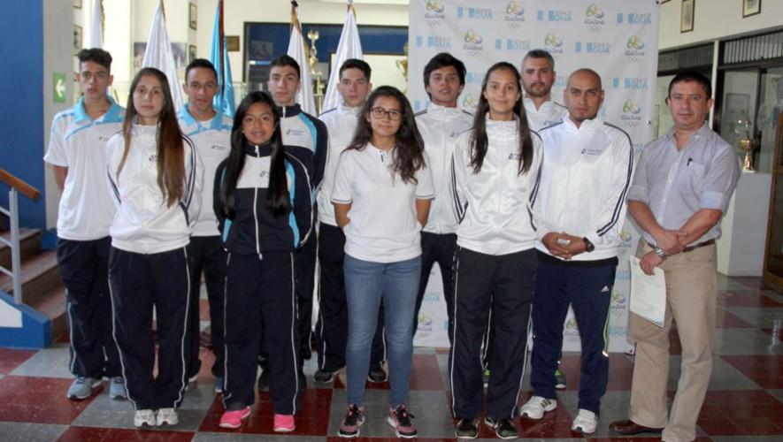 La delegación fue juramentada este martes previo a su viaje a tierras costarricenses. (Foto: CDAG)