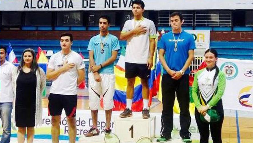 4 medallas de oro y 2 de plata se trajo de regreso la delegación guatemalteca de bádminton. (Foto: Comité Olímpico Guatemalteco)