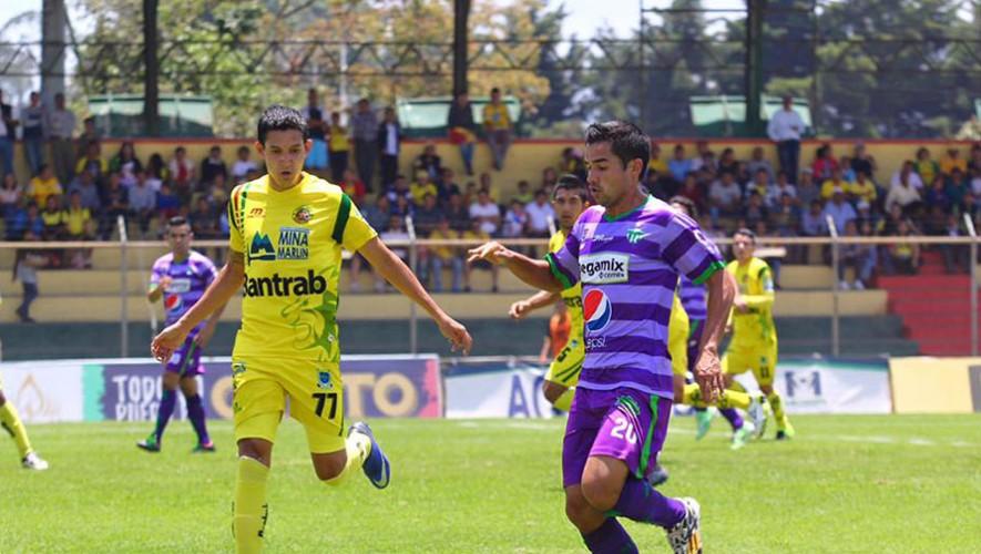 Partido de Antigua vs Marquense, por el Torneo Apertura |Octubre 2016
