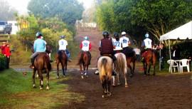 Este 2 de octubre se definirá al mejor jinete de Guatemala en la prueba de endurance. (Foto: ANEG)
