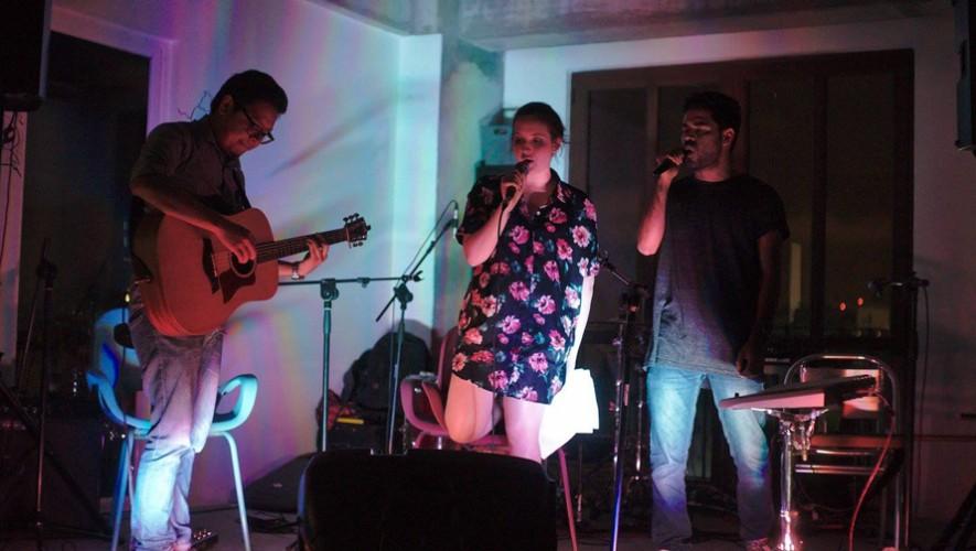 Matute presenta en concierto a la banda Shapes   Septiembre 2016