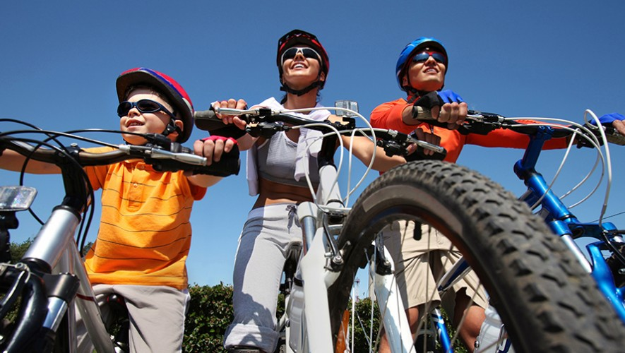 Paseo familiar en bicicleta en Zona Portales | Noviembre 2016