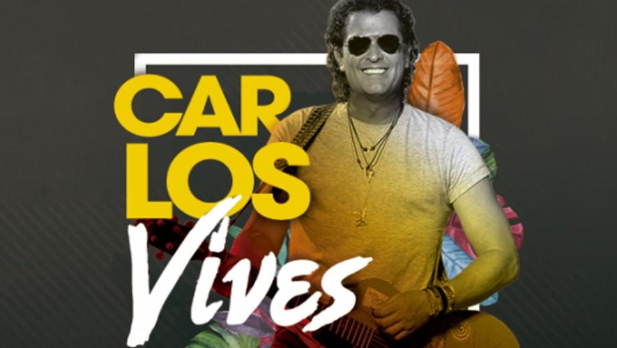 Concierto de Carlos Vives en Guatemala | Septiembre 2016