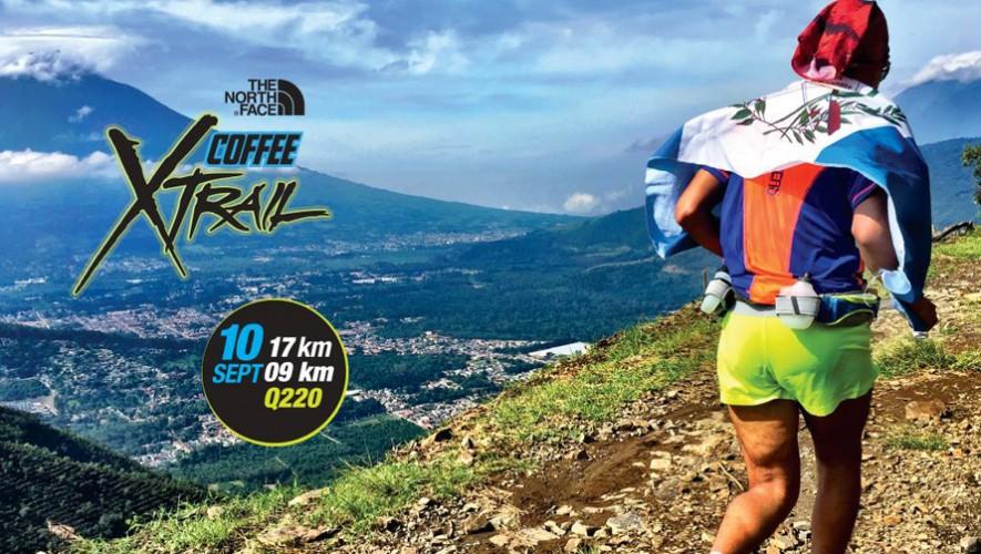 Carrera 17k  y 9k Coffee Xtrail en Antigua Guatemala | Septiembre 2016