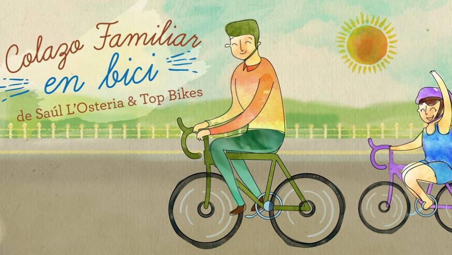 Colazo en bicicleta familiar en Saúl L'Ostería | Septiembre 2016