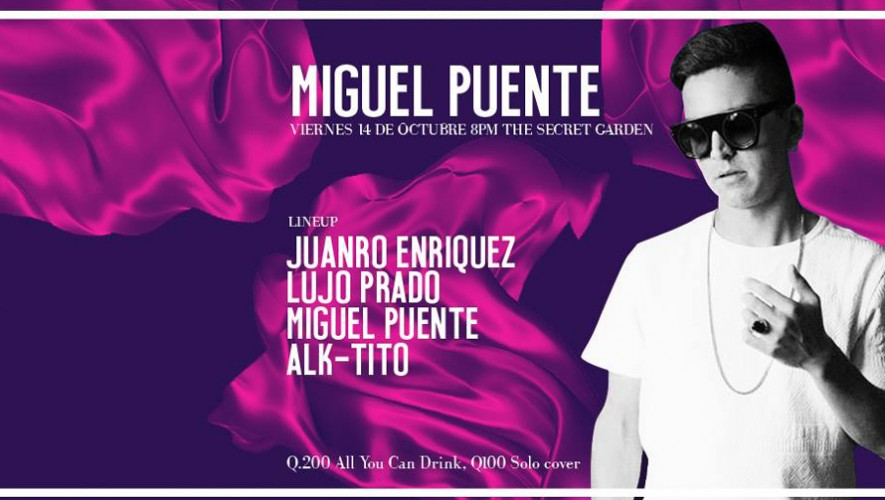 Fiesta Danzón Night con Miguel Puente y Akbal Music en The Secret Garden | Septiembre 2016