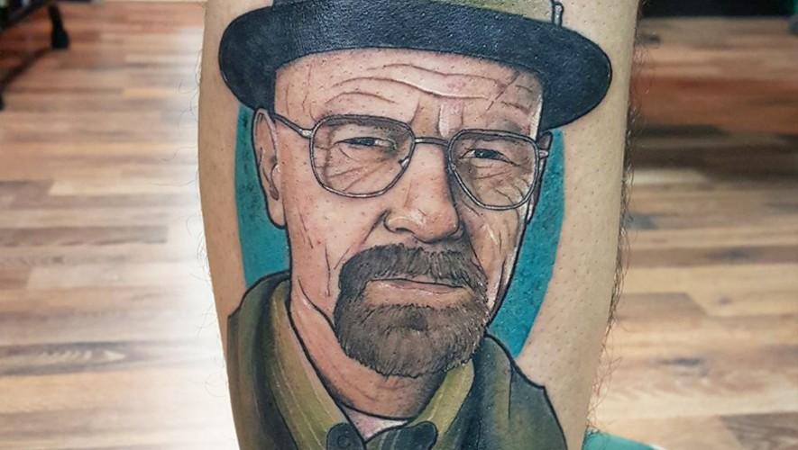 Tatuaje realizado por Fernando Beltethón. (Foto: Ferfectus)