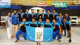Los jugadores de balonmano pusieron una vez más en alto el nombre de Guatemala. (Foto: Comité Olímpico Guatemalteco)