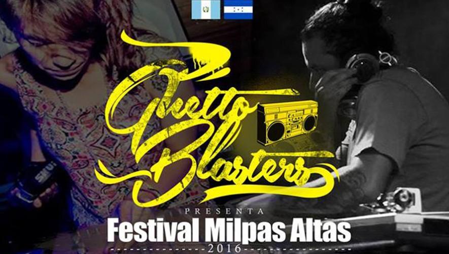 "Festival de música electrónica ""Guetto Blasters"" en Milpas Altas | Septiembre 2016"