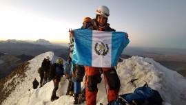 Pami se prepara para conquistar la cima más alta de América. (Foto: Cortesía de Pami Mendizabal)