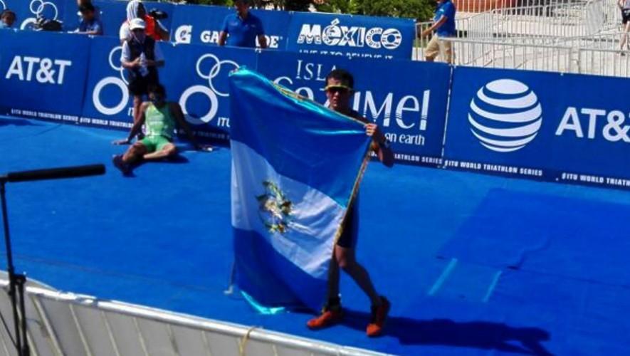 Ramazzini logró el mejor lugar para Guatemala en el Mundial de Triatlón por edades. (Foto: Facebook de Maria de Ramazzini)