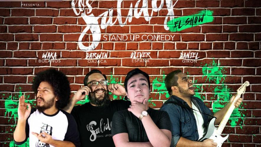 """Show de Stand Up Comedy de """"Los Salidos"""" en Román   Septiembre 2016"""