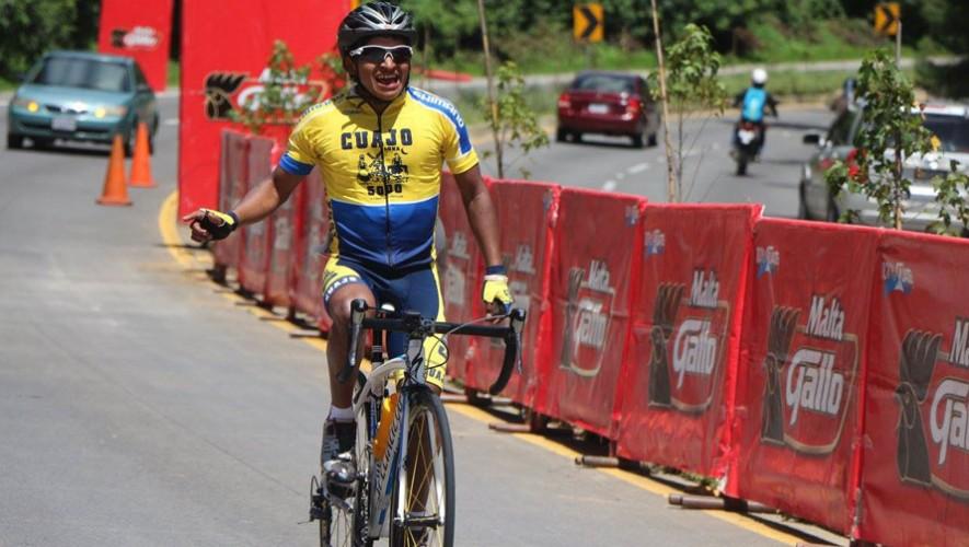Mardoqueo logró ganar la edición 52 de la Vuelta de la Juventud con un tiempo de 9 horas, 13 minutos y 42 segundos. (Foto: Federación Guatemalteca de Ciclismo)