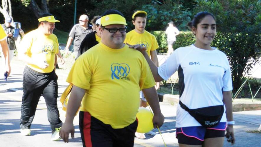 Corre para ayudar a los niños con síndrome de Down en Guatemala.(Foto: Fundación Margarita Tejada)